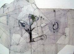 "Simis Gatenio; Painting, ""system organism machine"""
