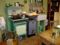 In the Boat With Vivian: A Typical Kitchen of the 1930's