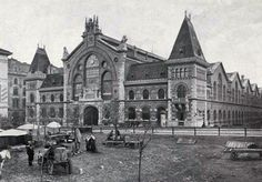 BUDAPEST - Képgaléria - Régi Budapest - Vásárcsarnok 1900-ban