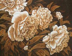 Пионы - Схемы вышивки - 2009Gelya - Авторы - Портал «Вышивка крестом»