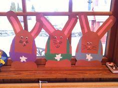 Easter craft - egg bunnies :)