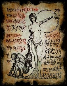 Fragmento del Necronomicon de Reina GHOUL