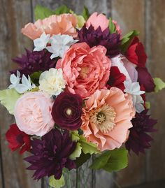 Lia Griffith - Crepe Paper Flowers | Crepe Paper Product Line