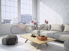 Find Living Room Loft Interior Rendering stock images in HD and millions of other royalty-free stock photos, illustrations and vectors in the Shutterstock collection. Interior Design Principles, Youth Rooms, Living Room Bookcase, High Pile Rug, Loft Interiors, House Cleaning Services, Color Plata, Machine Made Rugs, White Rug