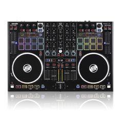 4-Deck SERATO DJ-Performance PAD Controller