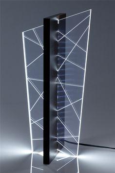 Line Reflex Luminária de canto com 54cm de altura