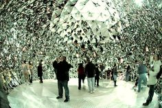Swarovski Crystal Factory- Crystal Room 2 in Wattens, Austria. I would really LOVE to go there one day!!