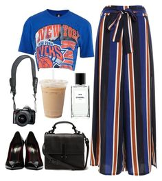 """""""Untitled #56"""" by matchalattebreak ❤ liked on Polyvore featuring Topshop, Yves Saint Laurent, Reef and Chanel"""