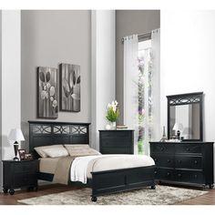 Ailey Queen 3-Pc. Bedroom Set (Bed, Nightstand & Chest) | Queen ...