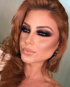 Gorgeous Makeup: Tips and Tricks With Eye Makeup and Eyeshadow – Makeup Design Ideas Glam Makeup, Sexy Makeup, Cute Makeup, Gorgeous Makeup, Makeup Geek, Beauty Makeup, Makeup Looks, Hair Makeup, Makeup Bags