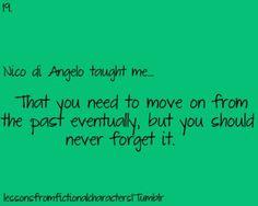 Nico taught me....