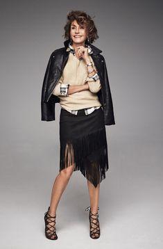El rejuvenecer de Naty Abascal en ocho fotos – Naty Abascal ejerce de estilista en Yo Dona y… Classic Style Women, Classic Outfits, Royal Blue Outfits, Estilo Cool, Fashion Over Fifty, Moda Paris, Mature Fashion, Diana Vreeland, Advanced Style