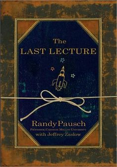 """""""We cannot change the cards we are dealt, just how we play the hand."""" Randy Pausch from his own experience, motivates people to strive for their childhood dreams. The book is a gift from a dying father to his three young children."""