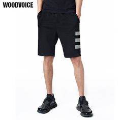 68c3da60999a Woodvoice Brand 2017 Summer Mens Fashion Stripe Shorts Cotton Shorts For  Male Outwear Clothing Hot Sale Knee Length Shorts 8899-in Shorts from Men s  ...