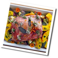 Organic September Recipe - Slow Roast Shoulder of Organic Mutton