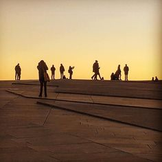The best sunsets in #Oslo can be enjoyed on the #oslooperahouse rooftop. @operaen_ @visitoslo : @anetteb64 #visitoslo #visitnorwayusa #norway #OsloWeek