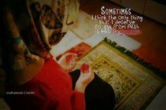 Ask Allah subana wa Ta'ala