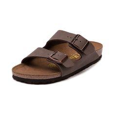 Womens Birkenstock Arizona Sandal, Mocha | Journeys Shoes