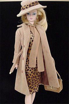 Silkstone ooak fashion animal print