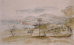 Stanwell Park by Henry Grant Lloyd Esquire, Australia, Park, History, Painting, Image, Historia, Painting Art, Parks