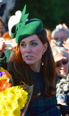 Catherine, Duchess of Cambridge attends the 2013 Christmas Day Service at Sandringham