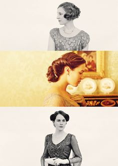 Downton Abbey makes me want to wear updos every day and dress up for dinner.