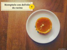 MipiacequandoDIY: Una candela da un mandarino