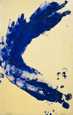 Yves Klein.  (French, 1928-1962). - asian style