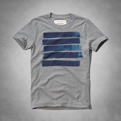 Mens Painterly Graphic Tee | Mens Graphic Tees | Abercrombie.com