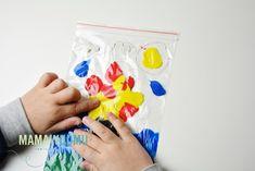 Pomysły na 10 worków sensorycznych, które zajmą dzieci na długo! | Mama w domu Fiji Water Bottle, Diy And Crafts, Craft Ideas, Therapy, Cuba, Diy Ideas