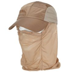 YX 360 Degree Protection Outdoor Riding Hat/ Sun Hats /Fishing Hats /Fisherman's Caps, Breathable and Quick-drying, Multi-functional ** Check out this great product.
