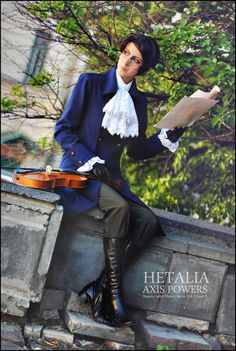 ((By Megane-Saiko on deviantArt This Austria cosplay is just amazing. I love it, I mean, it is just perfect, okay-))