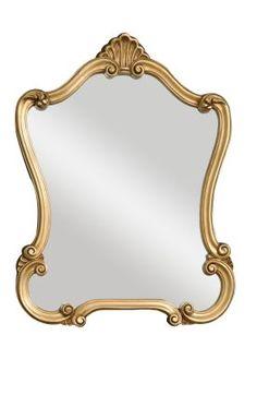 rugs usa  Uttermost Classic Walton Hall Mirror Gold  Item #: 31208340PWM-P  $152 + FREE SHIPPING