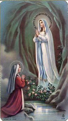 Monstra te esse matrem The mother of Jesus in art, life and devotion. I Love You Mother, Mother Mary, Lourdes Madonna, Santa Bernadette, Christian Mysticism, Our Lady Of Lourdes, Immaculate Conception, Holy Mary, Art Thou