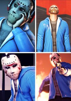The Masked Man, H2ODelirious  BBS