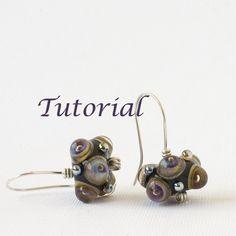 Wirework Earrings Tutorial $4