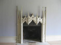 Gothic Revival Mantle from Strawberry Hill Manor