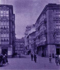 La Calle San Prudencio - vía www.vitoriaenfotos.blogspot.com