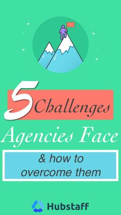 5 Challenges Agencies Face Every Day (And How to Overcome Them) Tracking Software, Things To Think About, Meant To Be, Challenges, Letters, Running, Learning, Business, Day