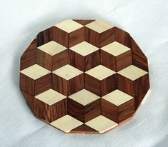 Hot mat Pot holder Stand hot Stand for hot Heat by GalychWoodWorks