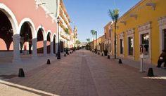 Pasear todo el día a la sombra de los portales. Durango. http://soy.ph/ViajesDurango