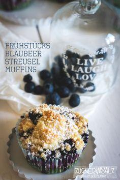Blaubeer Streusel Muffins für´s Frühstück