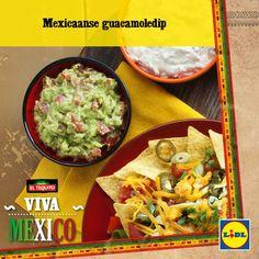 Recept voor Mexicaanse guacamoledip #Lidl #Mexico #Guacamole