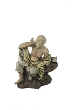 Midcentury Chinese Bisque Porcelain Winking Buddha - Heygill Imports https://www.etsy.com/listing/589572228/midcentury-chinese-bisque-porcelain?utm_campaign=crowdfire&utm_content=crowdfire&utm_medium=social&utm_source=pinterest
