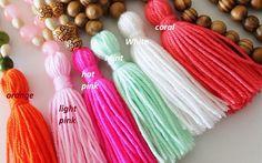 10 pcs Tassel CottonTassels Jewelry Making DIY Craft Supplies Wholesale tassels