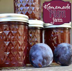 How To Make Homemade Plum Jam...http://homestead-and-survival.com/how-to-make-homemade-plum-jam/