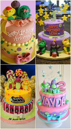 Barney And Friends Birthday Cake Ideas