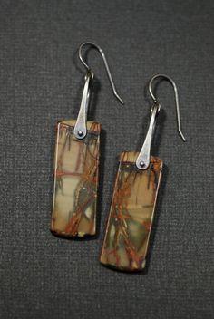 Red Creek Jasper Earrings style3
