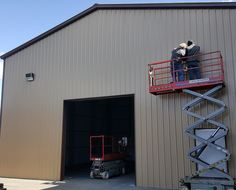 Agricultural Buildings, Roll Up Doors, Metal Garages, Metal Structure, Sales Tax, Metal Buildings, Front Entry, Basement, Commercial