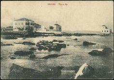 ΡΟΔΟΣ 1902 : Η παραλία όπου σήμερα υπάρχει ο Ναυτικός Όμιλος.